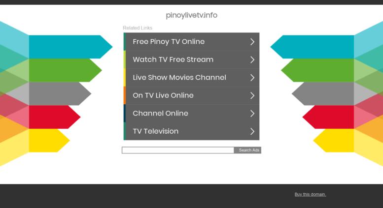 Pinoy live tv