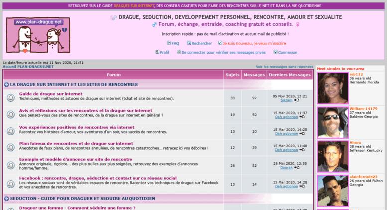 forums rencontres gratuits