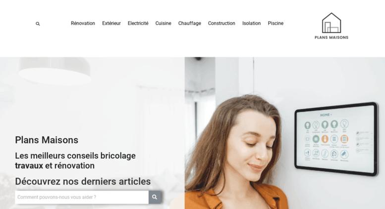 Plans Maisons.com: Plan Construction Maison: Construire Avec Un Plan  Architecte Gratuit. Plans De ...