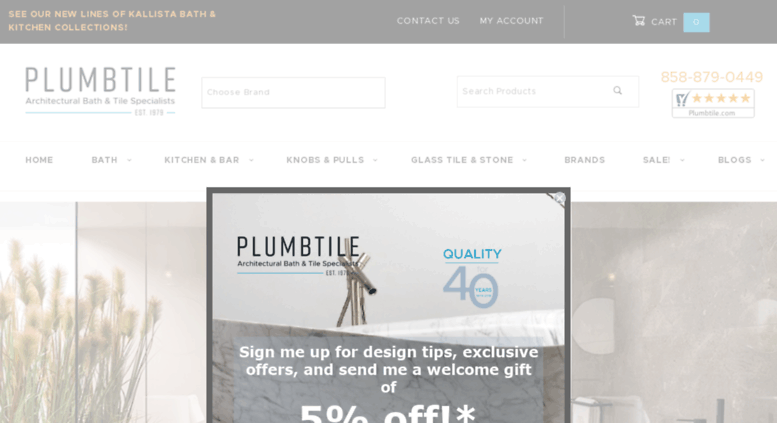 Access plumbtile.com. PlumbTile | Bathroom & Kitchen Tiles ...