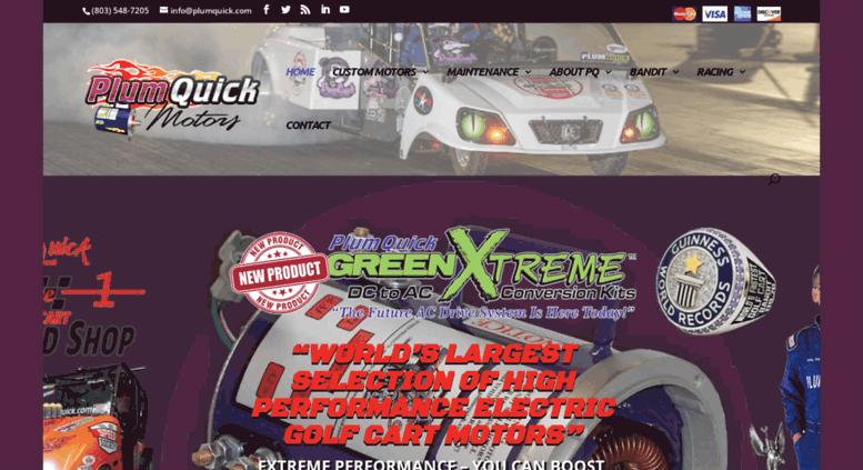 Access plumquick.com. High Sd & Performance Electric Golf Cart ... on golf cart 36 volt motor, golf cart engine, golf cart speed racing record, golf cart 4x4 conversion kit,