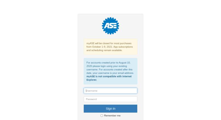 Access Portalecrm Myase Portal Login Register Here For Ase
