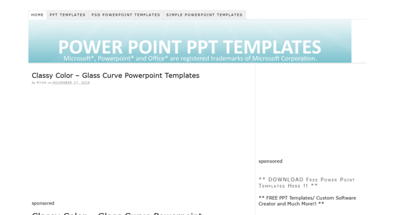 Access Powerpointskins Free Premium Powerpoint Templates And