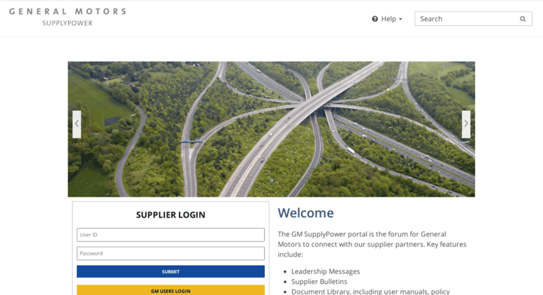 home gm supplypower portal