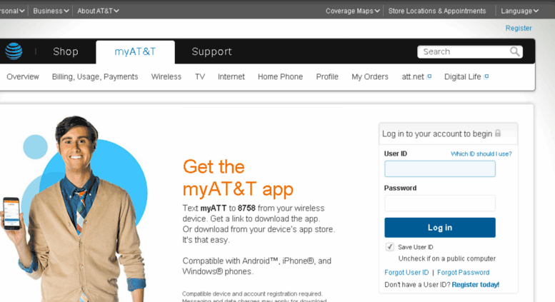 Att Wireless Login Premier speak about this