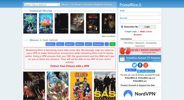 LetMeWatchThis - PrimeWire - 1Channel - Watch Movies