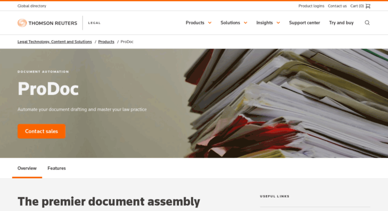 Access Prodoccom ProDoc Automated Document Assembly Software For - Legal document assembly
