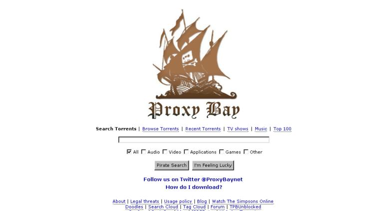 pirate proxy bay