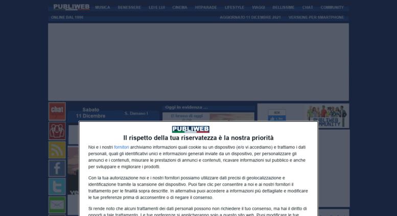 Access publiweb.it. Publiweb Community Italiana Lifestyle ...
