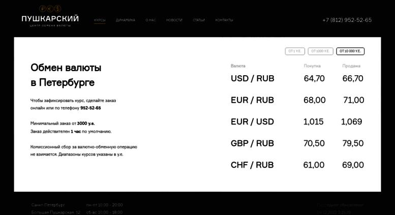 Покупка продажа валюты в санкт петербурге