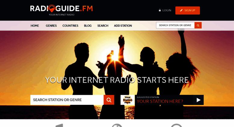 access radioguide fm internet radio listen to online radio rh accessify com windows internet radio guide online radio guide