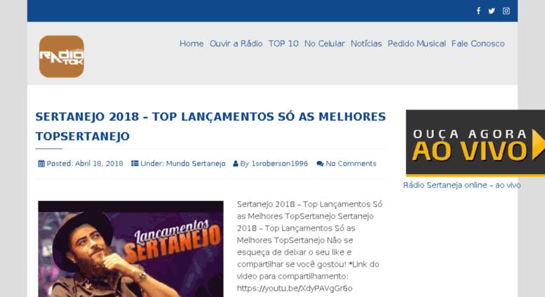 Ouvir musicas sertanejas online dating