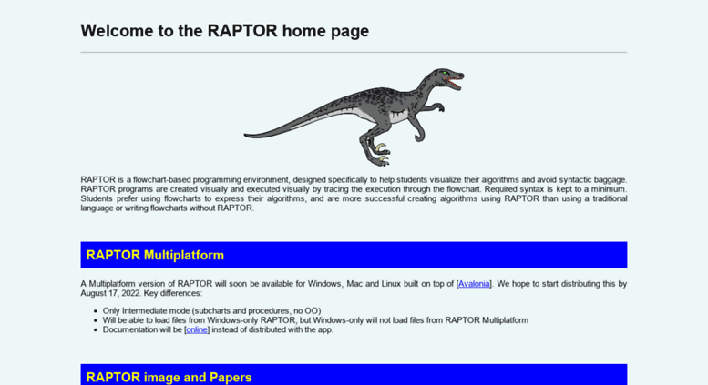 access raptormartincarlislecom raptor flowchart