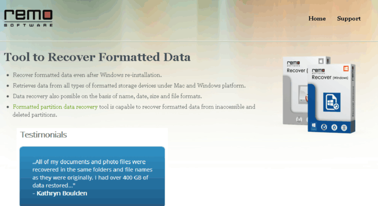 Free data recovery software after quick format