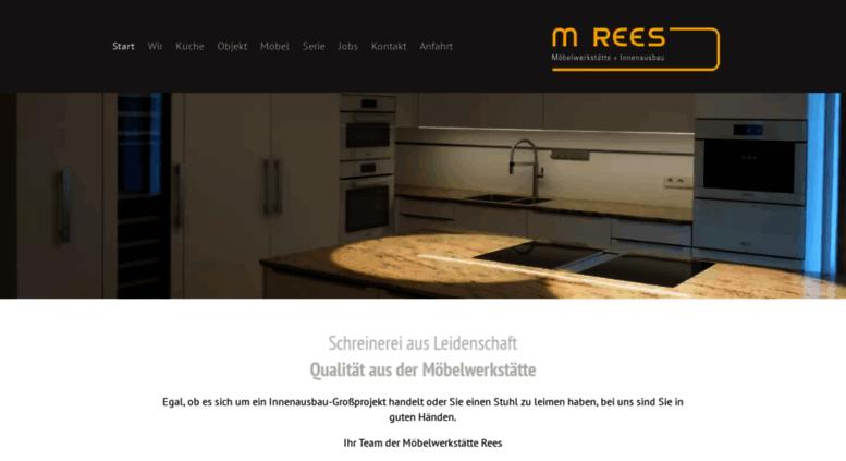 Schreinerei Ulm access rees moebelwerkstaette de m rees in ulm möbelwerkstätte