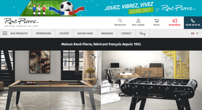 access rene baby foot et billard marque ren pierre fabricant fran ais. Black Bedroom Furniture Sets. Home Design Ideas