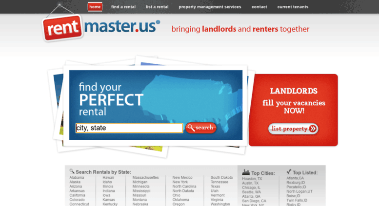 access rentmasterus rentmaster property management search for rentals and list listings