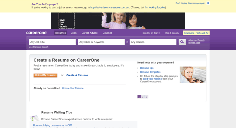 CareerOne.com.au's Guide To Writing A Resume