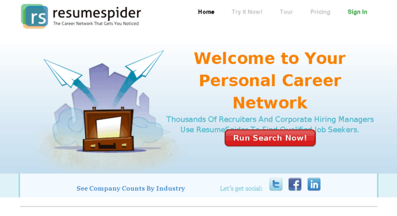 Access Resumespider Com Resumespider Targeted Resume Distribution