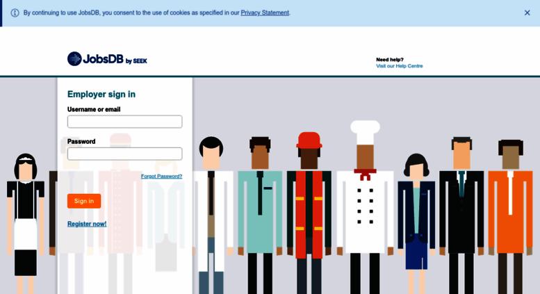 Access rmsbsdb employer login rms thailand jobsdb stopboris Choice Image