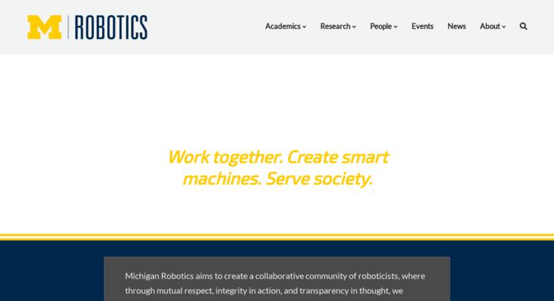 Access Robotics Umich Edu Robotics