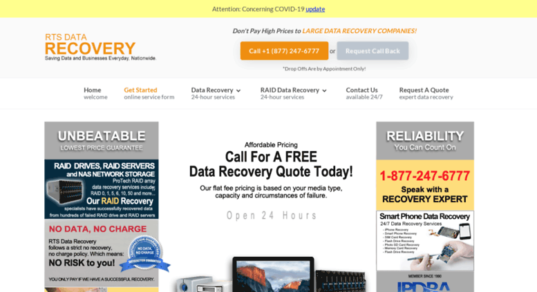Data recovery raid 5 crash