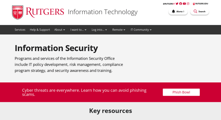 securing and protecting information