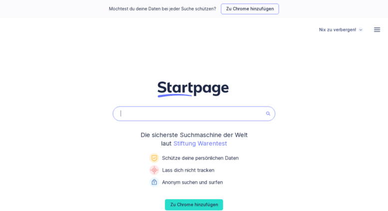 Access s2-eu5.ixquick.de. StartPage by Ixquick Web Suchen