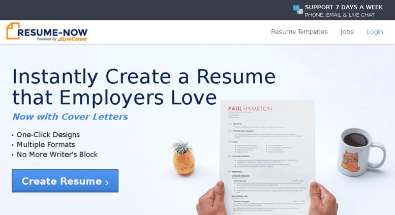 free fast resume builder