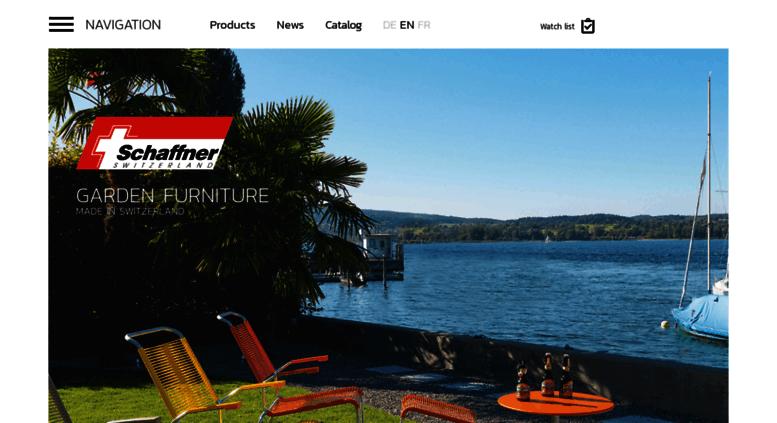 Access schaffner-ag.ch. Schaffner AG - Gartenmöbel Schaffner