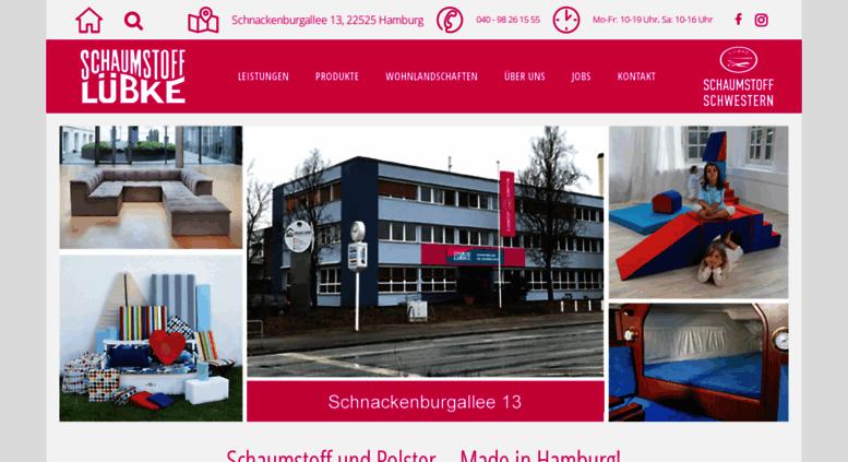 Access Schaumstoff Schwestern Luebkede Schaumstoff Lübke