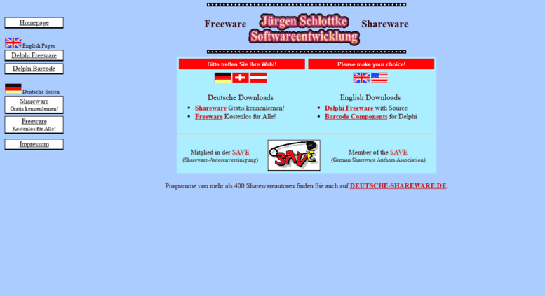 Schlottke.de Screenshot