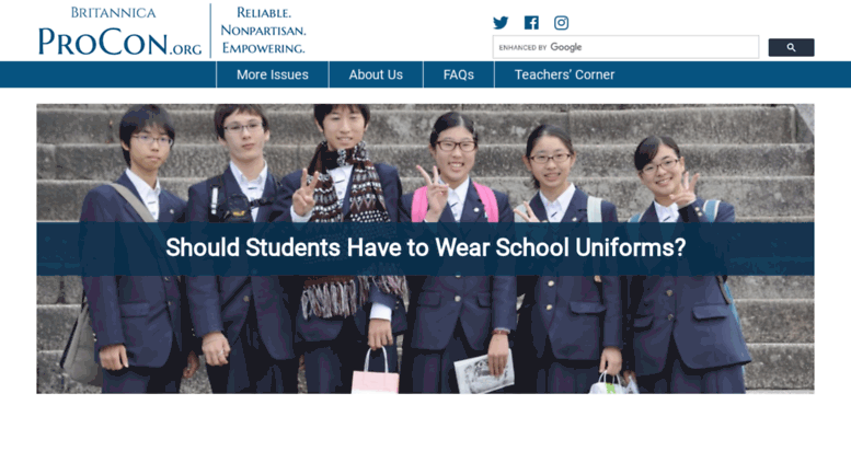 the importance of school uniform