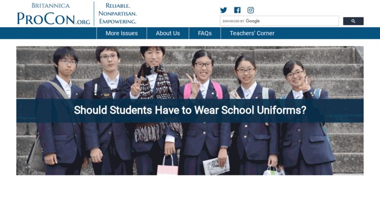 are school uniforms good or bad essay