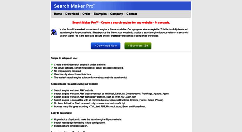 Search maker