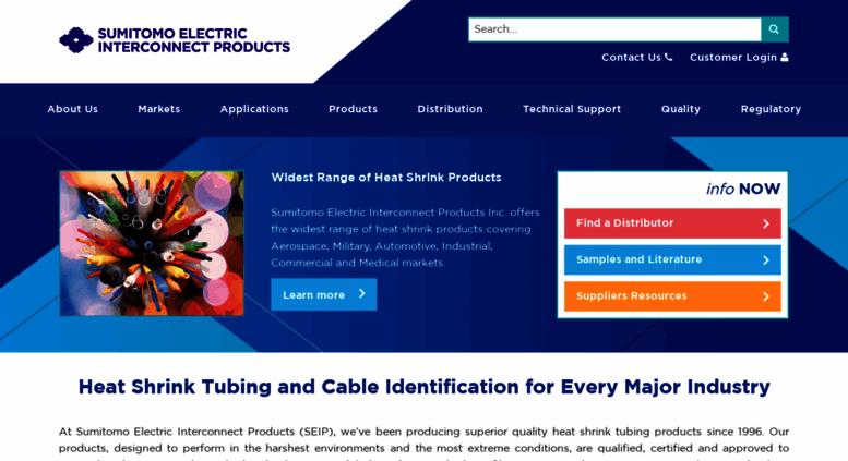Access seipusa.com. Makers of heat shrink tubing | heat shrink ...