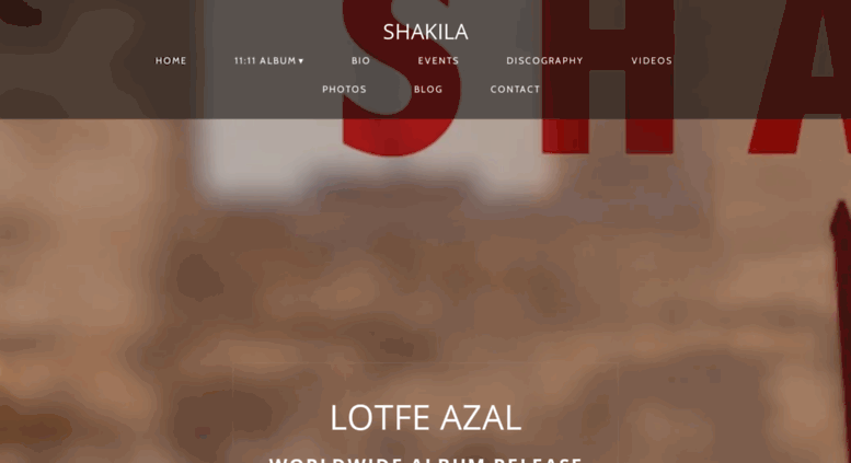 Shakila- #1 Billboard Adult Contemporary - New Age - World Fusion In San  Diego, USA, International A..