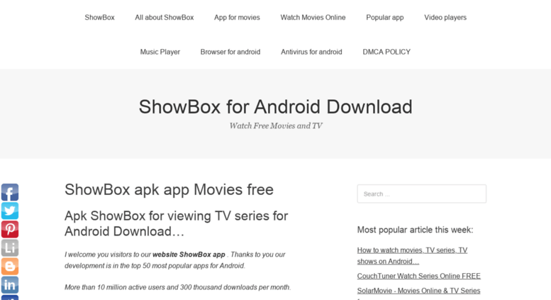 showbox download free for android