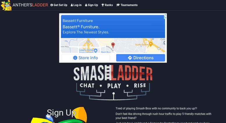 access smashladder com anther s ladder super smash bros online