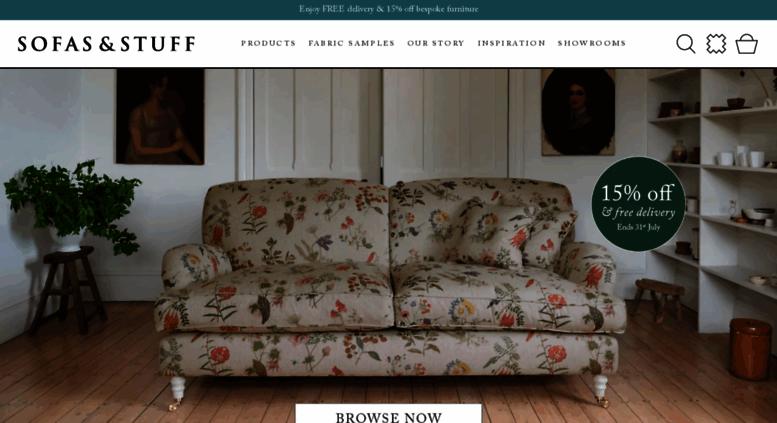 Access sofasandstuff.com. Sofas - Bespoke, British and Handmade ...