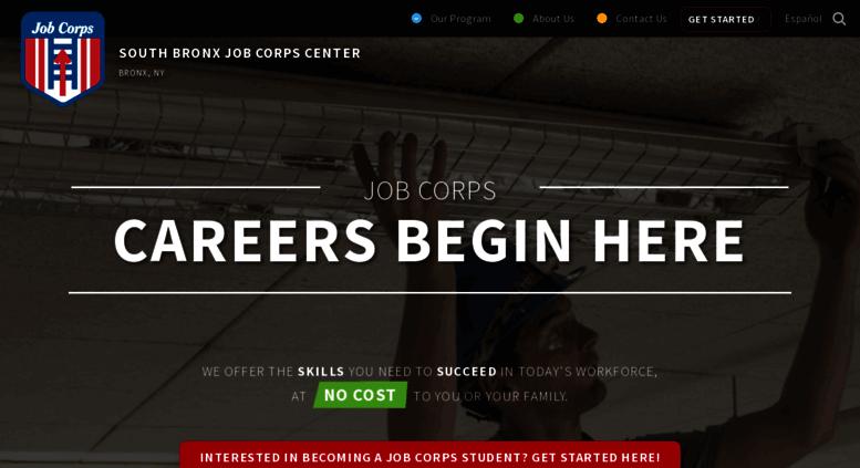 south bronx job corps