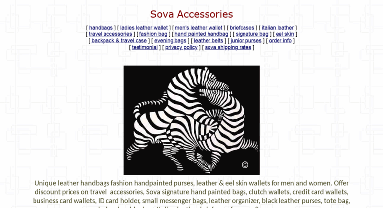 sovaleather.com  Buy Sova Leather Handbags Purses, Designer Wallets Bags  For Men and Women. View Our Ladies Designer Leather Purses, Tote Bags,  Hobos, ... 30d5a77739