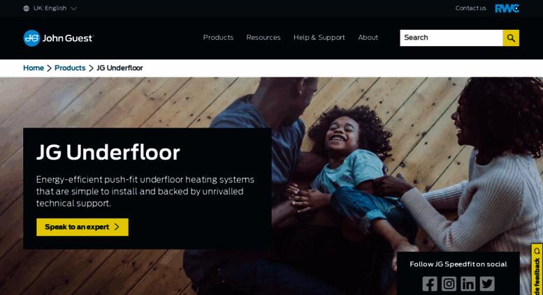 Access speedfitufh.co.uk. Underfloor Heating Systems Installation ...