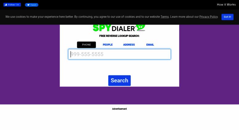free reverse phone number lookup cell phone or landline spy dialer