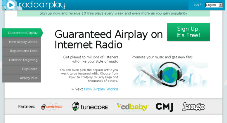 radio airplay popscore