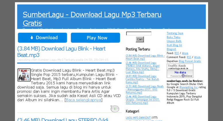 Access sumberlagub sumberlagu download lagu mp3 terbaru gratis sumberlagub screenshot reheart Images
