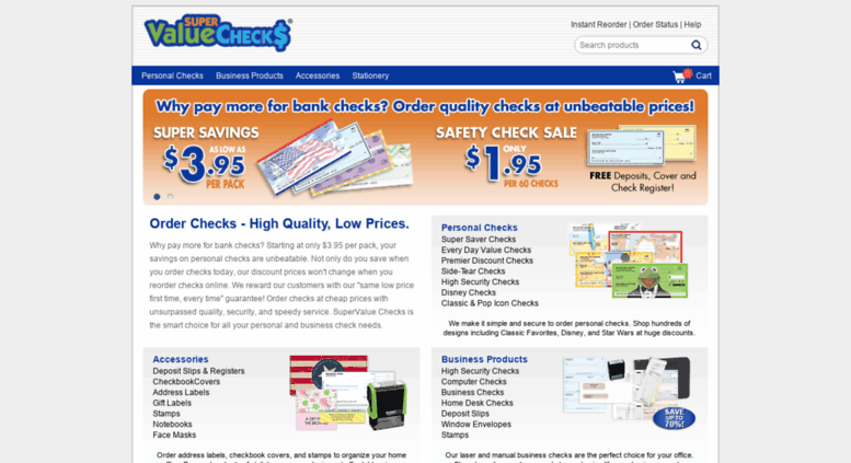 supervalue checks Access supervaluechecks.com. SuperValue Checks - Order Personal ...