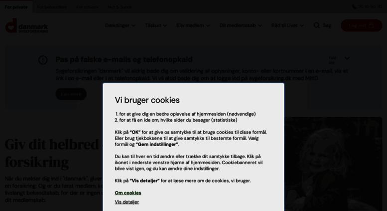 sygeforsikring danmark pris