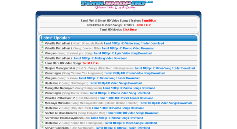 best website for downloading tamil movies in hd