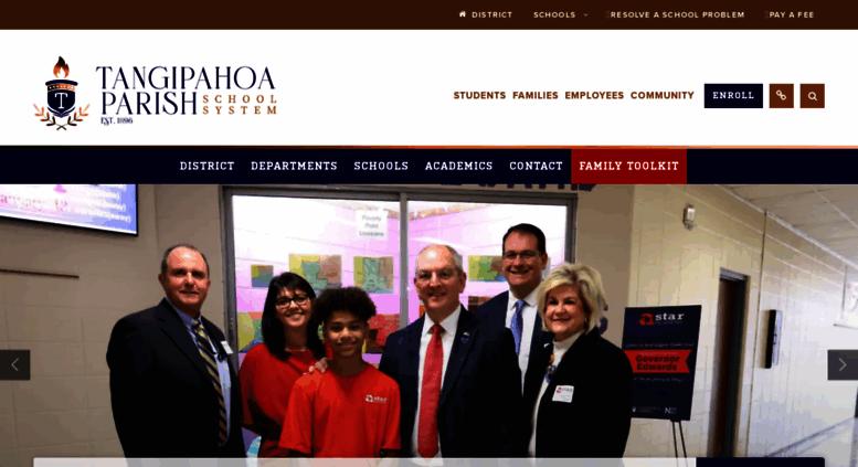 Access tangischools.org. Tangipahoa Parish School System / Homepage